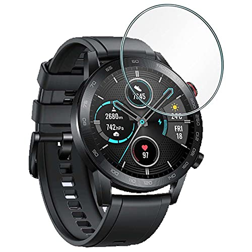REY Protector de Pantalla para Reloj Universal de 36mm, Cristal Vidrio Templado...