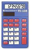 テキサスインスツルメンツ 電卓 カバー付き TI-108