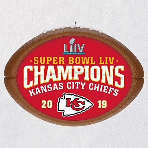 HMK Kansas City Chiefs Super Bowl LIV Commemorative Ornament