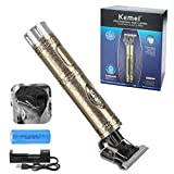 T-Blade Trimmer - Le Touch New Upgraded Electric Professional T Outliner Hair Trimmers Clippers for Men Rechargeable...