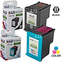 LD Remanufactured Ink Cartridge Replacements for HP 92 & HP 95 (1 Black, 1 Color, 2-Pack)