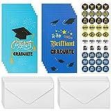12 Graduation Money Cards Holder Gift Card Holder for Kids Assorted Congrats Grad Design Envelopes Included
