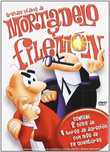 Grandes Vídeos de Mortadelo y Filemón [DVD]