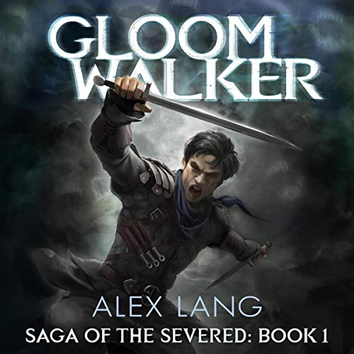 Gloomwalker audiobook cover art