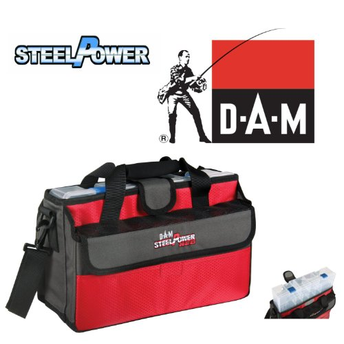 DAM STEELPOWER RED MOBILE TACKLE BAG