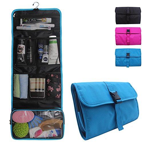 Relavel Travel Hanging Toiletry Bag for Men Women Travel Kit Shaving Bag Waterproof Wash