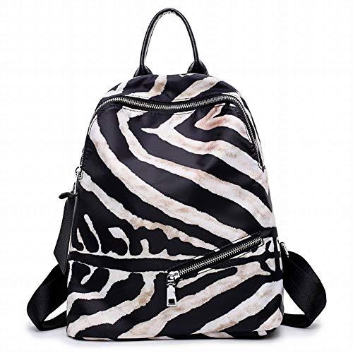 MKG Creatieve Mode Multi-Functie Zebra Patroon Schoudertas Vrouwelijke Tas Vrouwelijke Rugzak voor Vrouwen, klein