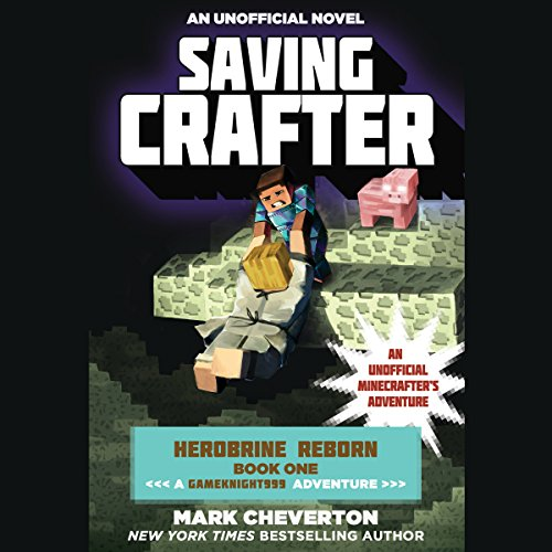 Saving Crafter audiobook cover art