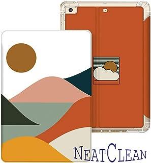 NeatClean ipad 10.2 ケース pencil収納 軽量 薄型 ipad 9.7 ケース ペンシル収納 耐衝撃 手帳型 二つ折り ipad pro11 ケース 2018 iPad 9.7インチ ケース 第六世代 iPad 第五世代 9.7 ケース 2017 ipad air3 ケース iPad mini5 ケース mini4ケース mini3ケース mini2ケース miniケース ipad Air3ケース Air2ケース Airケース スタント機能 タブレットケース ipad pro11 ケース ペンシル ipad pro10.5 ケース おしゃれ ipad 第7世代 ケース 10.2インチ ペンシル収納 アイパッドケース 薄い 三つ折り タイプ 背面透明 魅力的 オシャレ おもしろ 太陽 イラスト シンプル 若者(iPad Pro/Air 10.5,b柄)