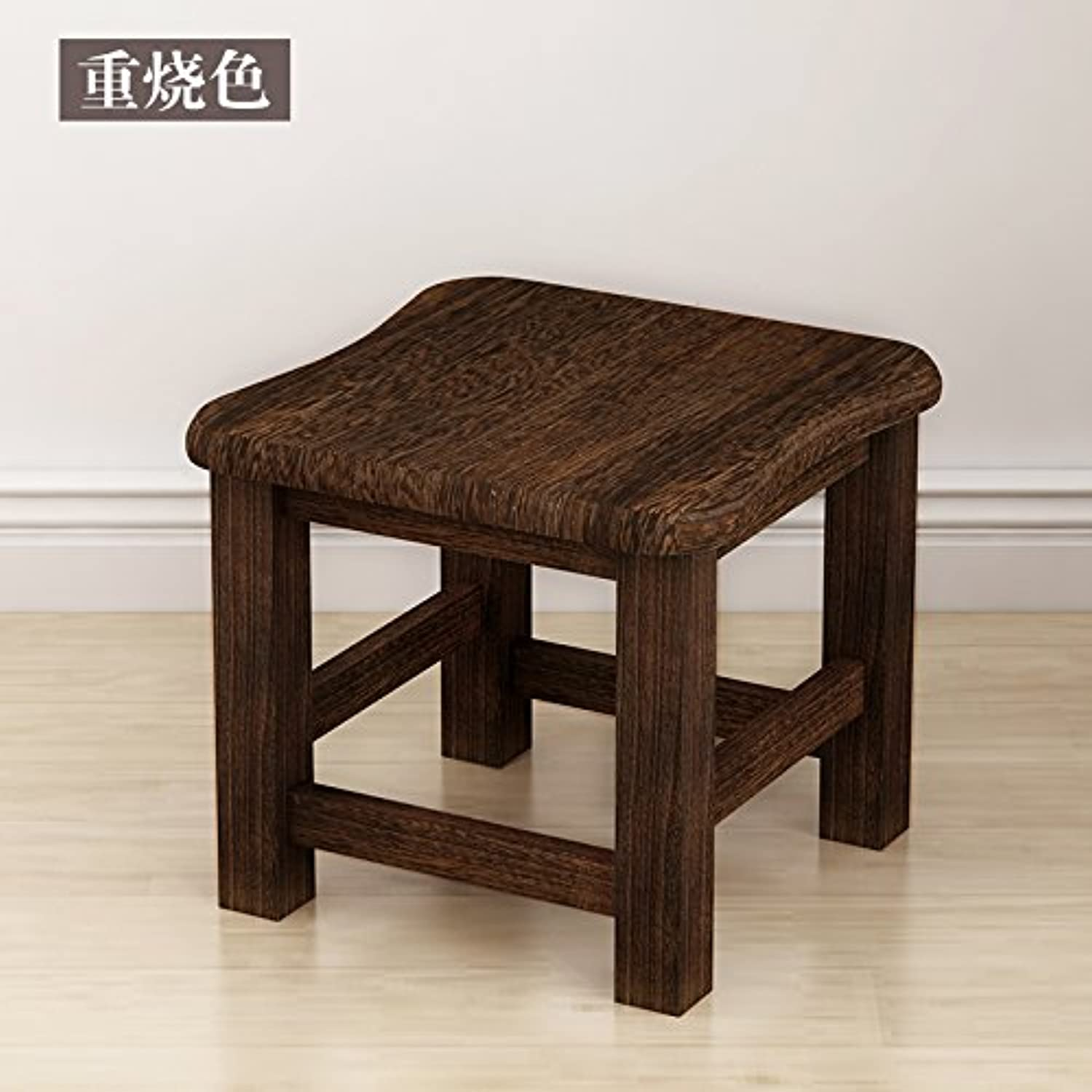 Dana Carrie Small Benches stools Home Modern Stylish Creative Benches on a Low stool Solid Wood Home Wood Bench, B
