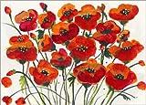 Poster 40 x 30 cm: Rote Mohnblumen von Jan Griggs/Wild