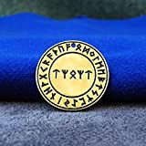 Rune spell talisman, formula for home. Vikings necklace (Tiwaz - Algiz - Othila - Algiz - Tiwaz)