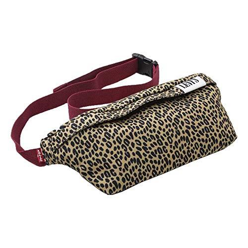 Verspielte modische Version einer klassischen Tasche, die um die Hüfte oder quer über die Brust getragen werden kann