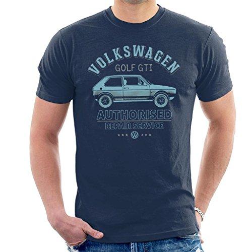 Volkswagen Blue Golf GTI Repairs Men's T-Shirt