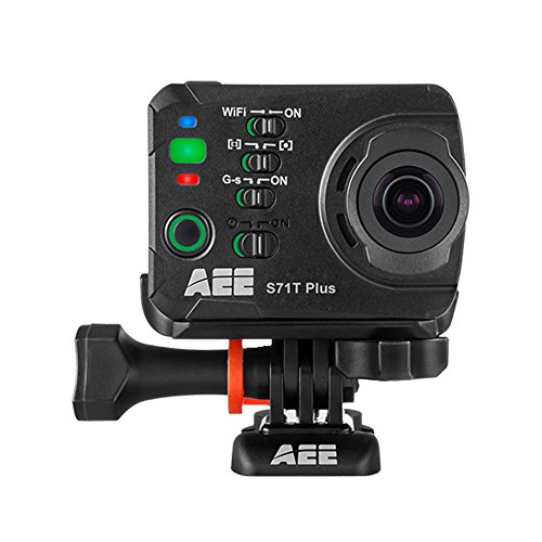 AEE S71T PLUS 16MP Full HD 1/2.8' Wifi cámara para deporte de acción - Cámara deportiva (Full HD,...