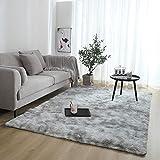 ENticerowts - Tapis de Sol rectangulaire en Peluche, Doux et Confortable, antidérapant, pour la Maison, Le Salon, la Chambre à...