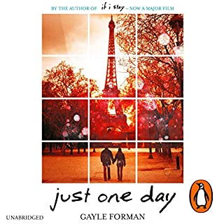 Just One Day                   By:                                                                                                                                 Gayle Forman                               Narrated by:                                                                                                                                 Kathleen McInerney                      Length: 10 hrs and 29 mins     20 ratings     Overall 4.0