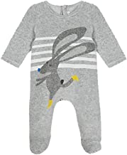 Catimini Gray Rabbit Footie