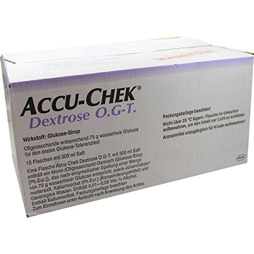ACCU CHEK Dextrose O.G.-T. Saft 15X300 ml
