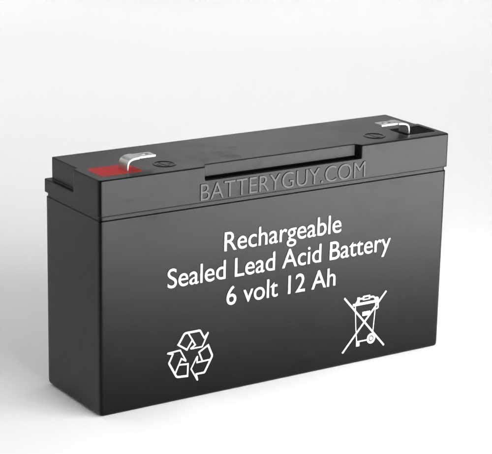 BatteryGuy 6V 12AH SLA Replacement Zareba Recha Battery SB1 for Charlotte Mall Max 73% OFF