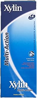 【Xylin】デンタルフロスでお掃除したようなスッキリ仕上げ!マルチアクション歯ブラシ&舌磨き 1ケース(12本)【特殊二層高層】抗菌ナノシルバー99.9%菌の増殖を抑制。(歯磨き粉なし)