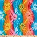 Newcastle Fabrics Polar Fleece Java Tie Dye Fabric, Multi