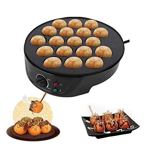 Waffeleisen Belgische Waffel,Octopus Balls Multibaker , Elektrische Keks-Takoyaki-Maschine , Frühstück Takoyaki-Maker , Taiyaki-Maker Takoyaki-Pfanne Elektrischer Gauffrier