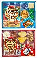 Becker's School Supplies Melissa & Doug Store & Serve Food Set (35 Pieces) [並行輸入品]