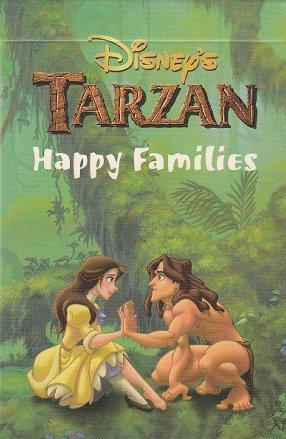 Preisvergleich Produktbild Disneys Tarzan Happy Families Quartett Spielkarten Kartenspiel