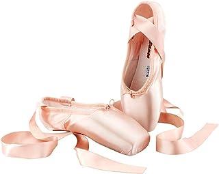 KALUNBS Scarpette da Danza Classica Punte Balletto Scarpe da Ballo Comprende Scarpette salvapunte e Nastri per Donna e Rag...