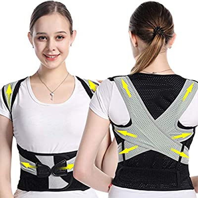 Back Brace Posture Corrector for Women and Men ...