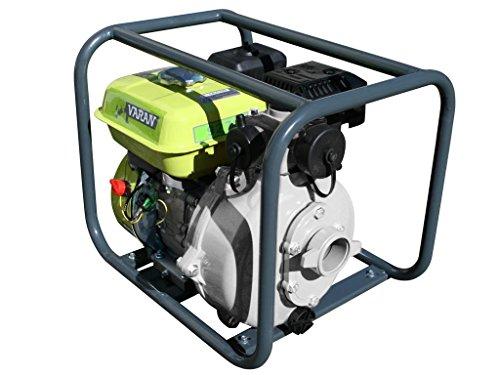 Varan Motors 92703 Hochdruck Wasserpumpe Benzin 45.000 l/h Benzin, 196 cc 6.5 CV