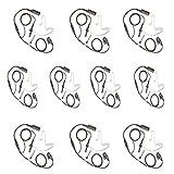 10 auriculares de micrófono para radio MOTOROLA MOTOTRBO (Multi Pin) DP2000, DP2400, DP2600, DEP550, DEP570, DP3441
