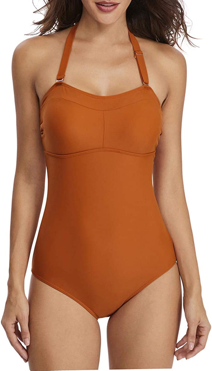 We OFFer at cheap prices HSwim Women's Halter Backless Slim Swimsui Max 87% OFF fit One Holiday Piece