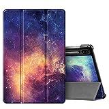 FINTIE SlimShell Funda para Samsung Galaxy Tab S6 10.5' 2019 (SM-T860/T865) - Carcasa Delgada [Admite Carga Inalámbrica S Pen] con Función de Soporte y Auto-Reposo/Activación, Galaxia