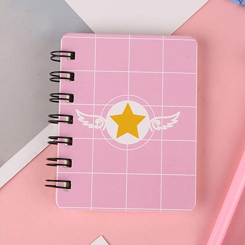 LIJUCAI notebook 16 styles Spiral book coil Notebook Kawaii Lined Blank Grid Paper Journal Diary Planner For School Supplies Stationery Gift-in Notebooks from Office & School Supplies,9