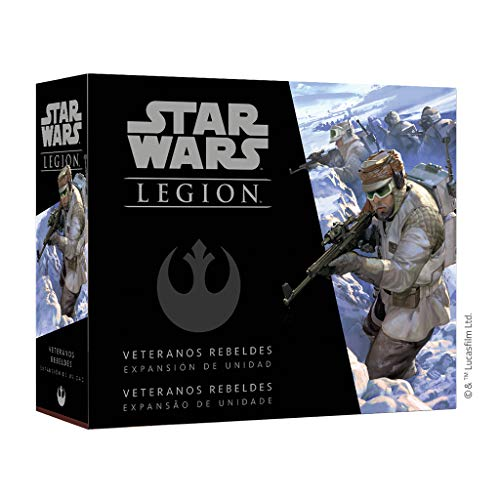Fantasy Flight Games- Star Wars Legión - Veteranos Rebeldes, Color (SWL39ES)