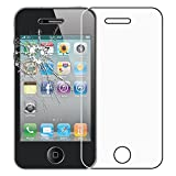 ebestStar - Cristal Templado Compatible con iPhone 4, 4S Protector de Pantalla, Película Vidrio Protectora Ultrafina, Dureza 9H, Sin-Burbujas [Aparato: 115.2 x 58.6 x 9.3mm, 3.5'']