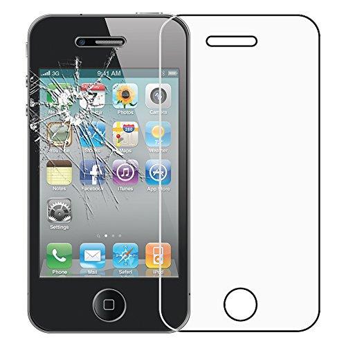 ebestStar - Cristal Templado Compatible con iPhone 4, 4S Protector de Pantalla,...