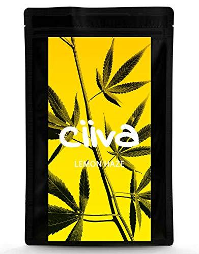 Ciiva Aromatee *NEU* LEMON HAZE I Premium Qualität 3g (3000MG) I Made in Italy I Naturbelassen, Vegan & Laborgeprüft I natürlicher Geschmack I Anbau im Reinraum I Neutrale Verpackung
