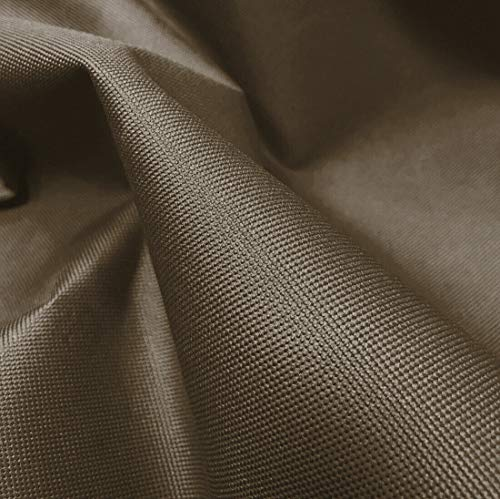 A-Express 20 oz Resistente Tela Impermeabile Tessuto Materiale Spessa Tela 600D Copertura Venduta al metro - 1 Metro 100cm x 150cm Marrone