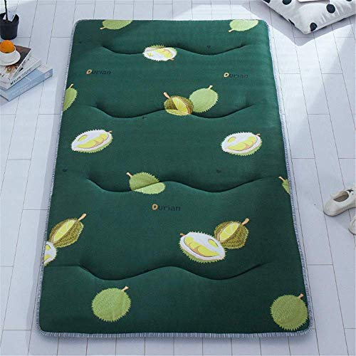 Lqfcjnb Folding Mattress Student Dormitory Folding Mattress Portable Tatami Floor Sleeping Pad Mat Lazy Bed For An Extra Bed Or Guest Easy Storage Without Occupying Space