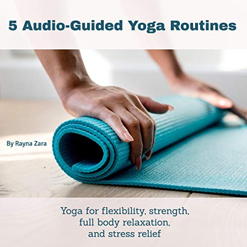 5 Audio Guided Yoga Routines audiobook cover art