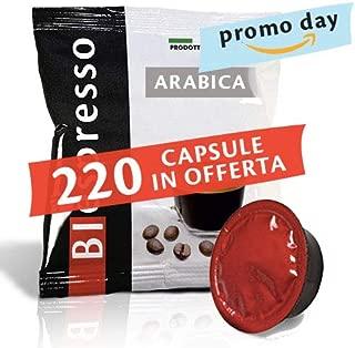 200 Capsulas compatibles Lavazza a Modo Mio 100% Arabica