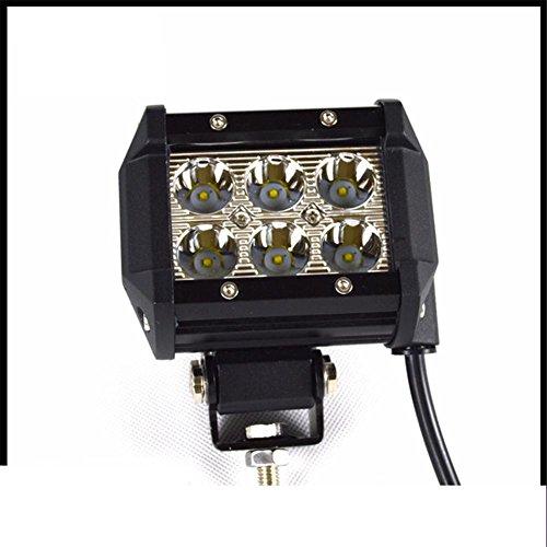KDLD 18W Led Light Bar, ECC spot Peigne travaux légers drving Feux antibrouillard Convient pour tous les modèles