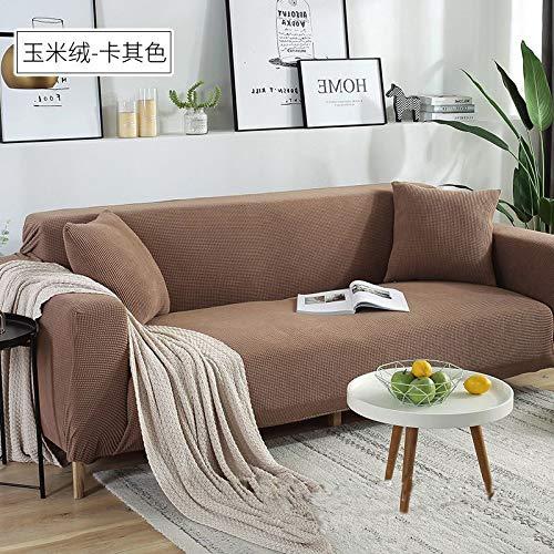 misshxh Universele Elastische Armchair Cover, Decoratieve Sofa Cover, Anti-slip Thuis Huisdier Cover, 1/2/3/4 Seat