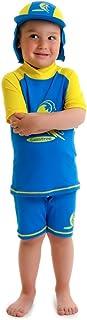 Boysサイズ2太陽保護用ラッシュガード水着Swimシャツショートパンツ2?Years Old