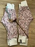 Pumphose Rosa Vögel Größe 80 Hose Pumpy KindBaby Handmade Geschenk Geburt
