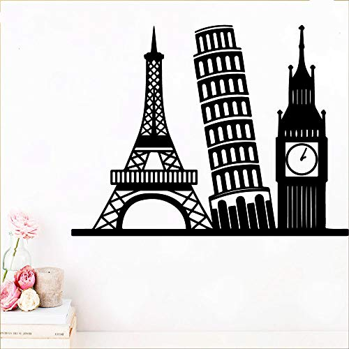 sanzangtang De beroemde torenmuursticker kan worden gebruikt om de muur van de woonkamer te versieren.