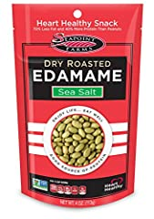 A HIGH-PROTEIN VEGAN FOOD: Seapoint Farms Dry Roasted Edamame is perfect for any plant-based diet. Our soybeans are dried and processed to preserve their nutrients, making them a great way for vegans and vegetarians to get the protein they need. NON-...